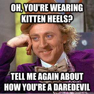 Kitten Heel Meme