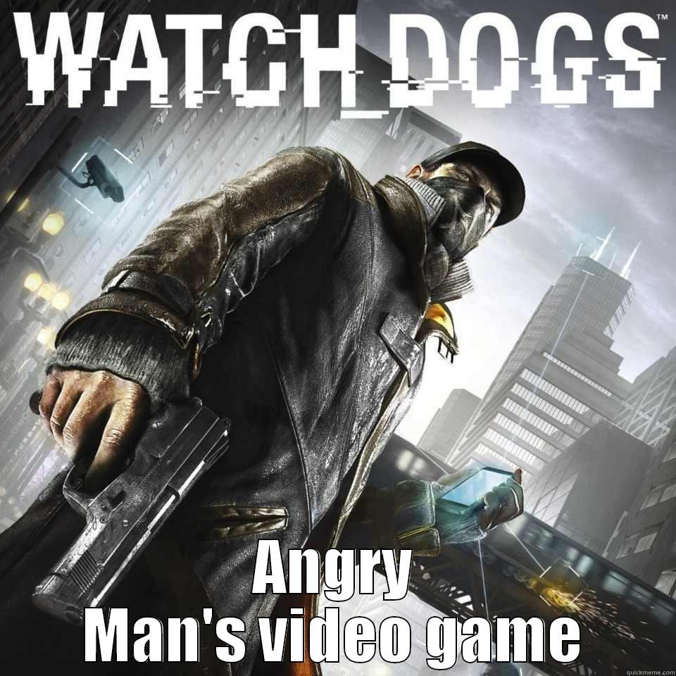 ANGRY MAN'S VIDEO GAME Misc
