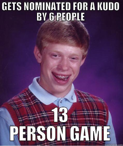 Epic Mafia 001 - GETS NOMINATED FOR A KUDO BY 6 PEOPLE 13 PERSON GAME Bad Luck Brian