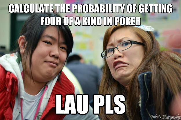 How to calculate the probability of getting a straight in poker