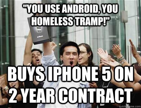 Annoying Apple Fanboy Memes Quickmeme