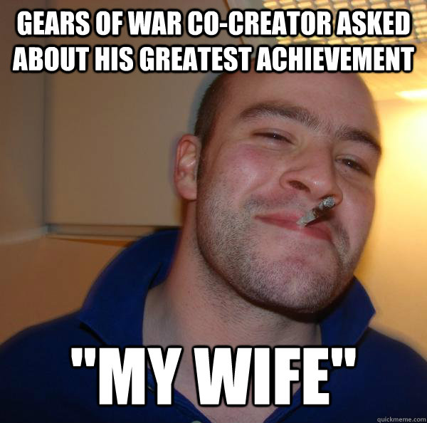 Gears of War co-creator asked about his greatest achievement