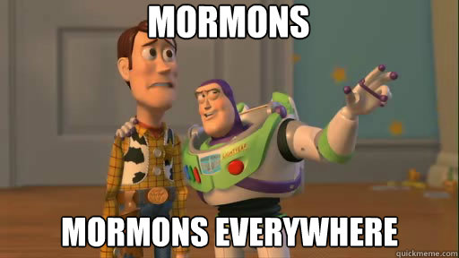 Image result for mormons mormons everywhere