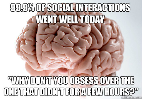 99.9% of social interactions went well today
