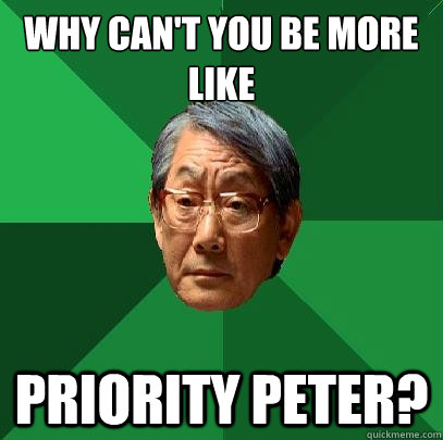 Question interesting, Priority peter meme there other