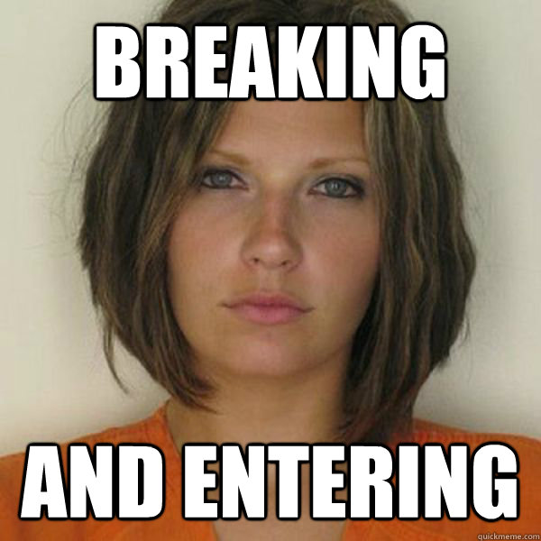 BREAKING AND ENTERING - BREAKING AND ENTERING  Attractive Convict