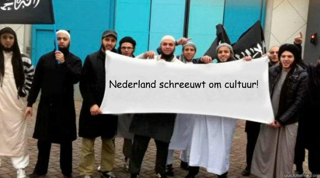 Nederland schreeuwt om cultuur!