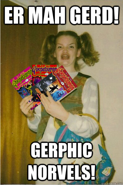 Er Mah Gerd! Gerphic Norvels! - Er Mah Gerd! Gerphic Norvels!  New Berks