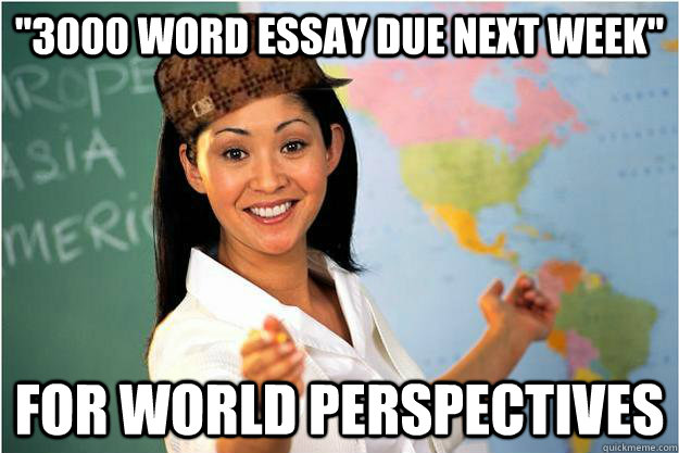 How quickly to get out a 3,000 essay? - Education - Whirlpool Forums