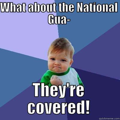 National Guard Memes National Guard What About