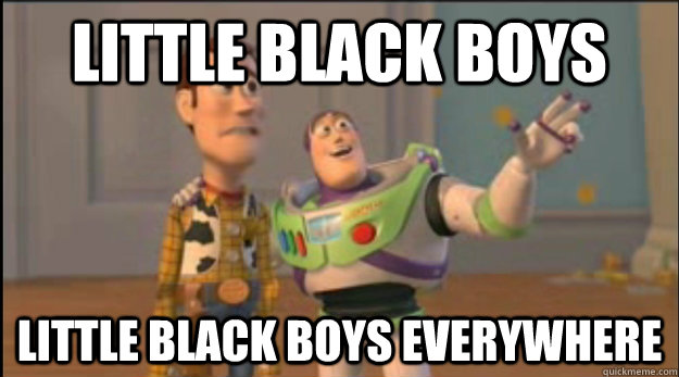 Little Black boys little black boys everywhere - Little Black boys little black boys everywhere  Misc