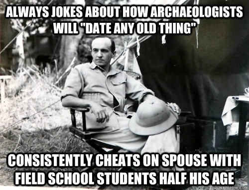 archaeology dating jokes pictures