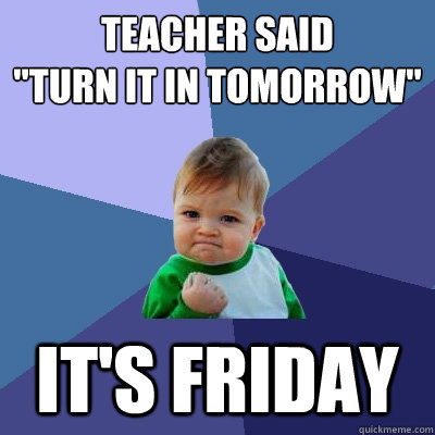 teacher said
