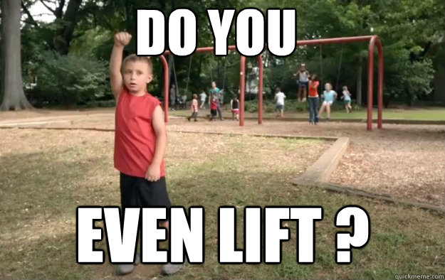 DO YOU EVEN LIFT ? - DO YOU EVEN LIFT ?  Misc