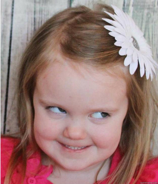Little Girl Funny Smile Meme : Creepy wildly weird things that kids have said to