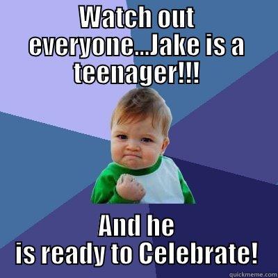 Jakes 13th Birthday