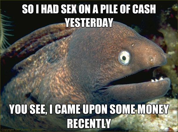 Sex Is Sex But Money Is Money Matter Medium