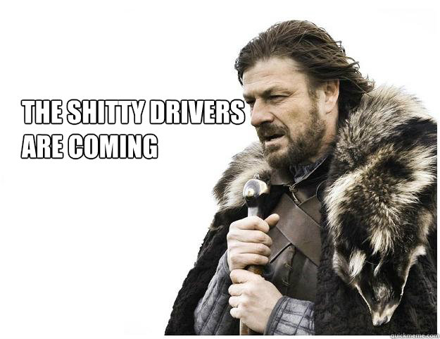 THE SHITTY DRIVERS ARE COMING - THE SHITTY DRIVERS ARE COMING  Imminent Ned