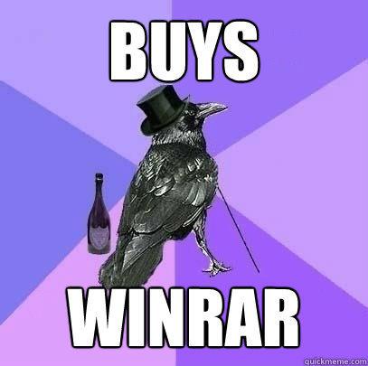 buys winrar  Rich Raven