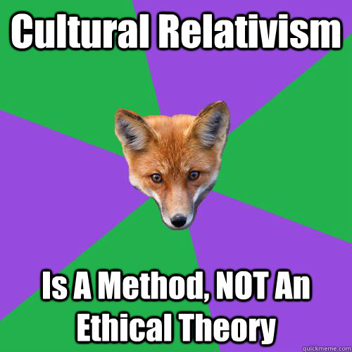 an analysis of the important concept of cultural relativism Distinguish cultural relativism and  the fact of cultural diversity raises some important but difficult questions  harris's analysis was so important,.