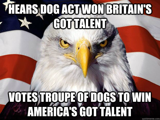 hears Dog act won britain's got talent votes troupe of dogs to win america's got talent - hears Dog act won britain's got talent votes troupe of dogs to win america's got talent  One-up America