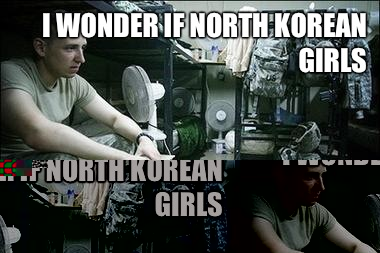 I wonder if North Korean girls Like American guys
