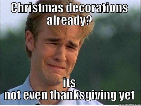 Christmas Decorations already? - quickmeme