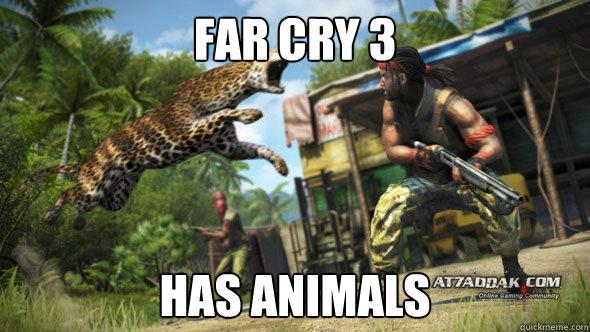Far Cry 3 Has Animals