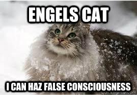 engels cat i can haz false consciousness - engels cat i can haz false consciousness  Misc