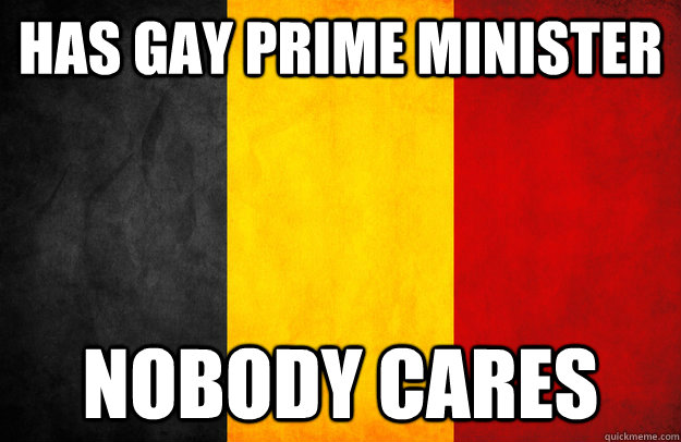 Has gay prime minister nobody cares - Has gay prime minister nobody cares  belgium