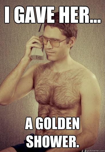Pics funny Golden shower