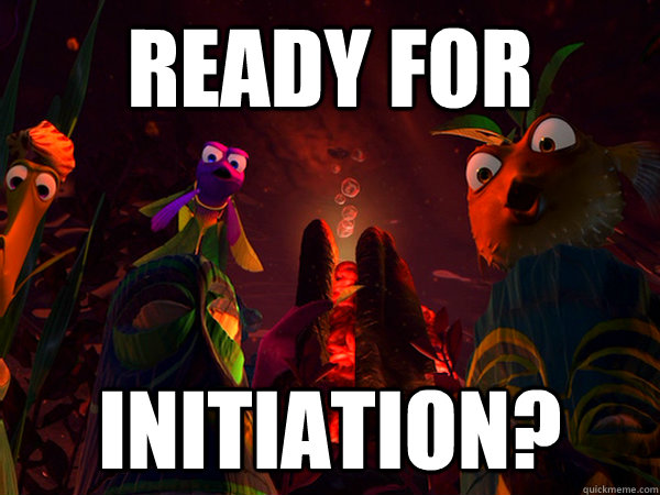 ready for initiation?