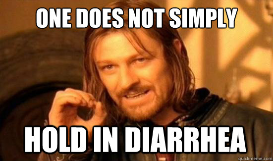 One Does Not Simply hold in diarrhea - One Does Not Simply hold in diarrhea  Misc