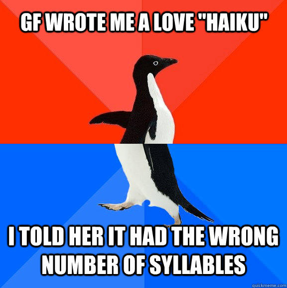 GF wrote me a love