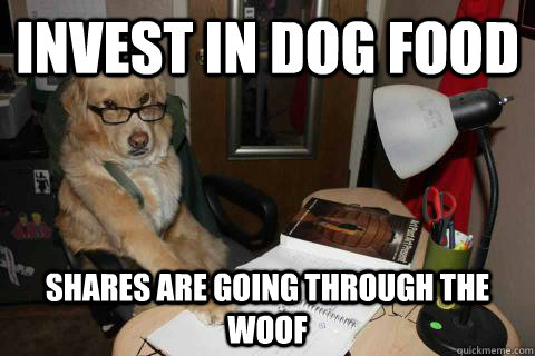 Invest in dog food shares are going through the woof - Invest in dog food shares are going through the woof  Financial Advice Dog