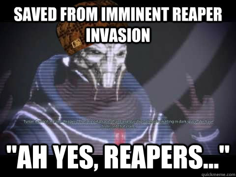Saved from Imminent Reaper Invasion