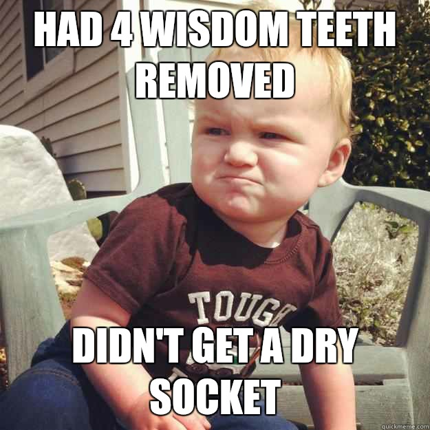 wisdom in bad tooth taste mouth