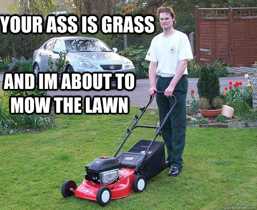 lawnmower - iFunny :)