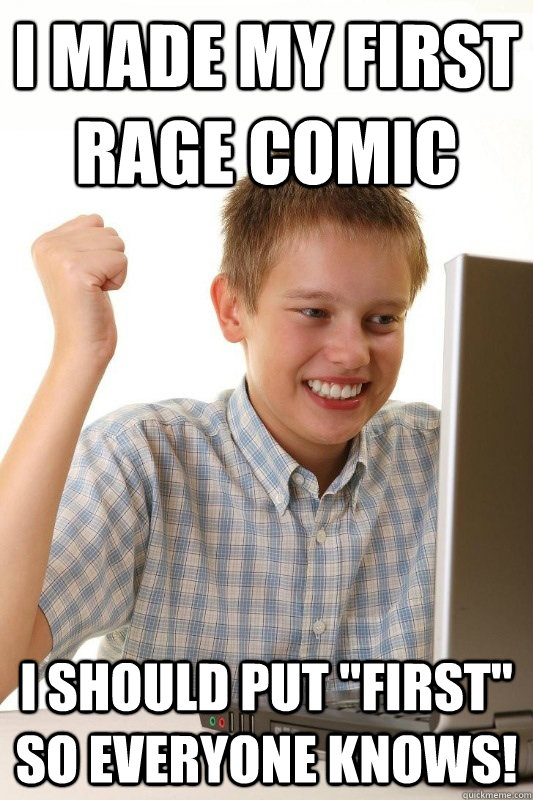 I made my first Rage Comic I Should put