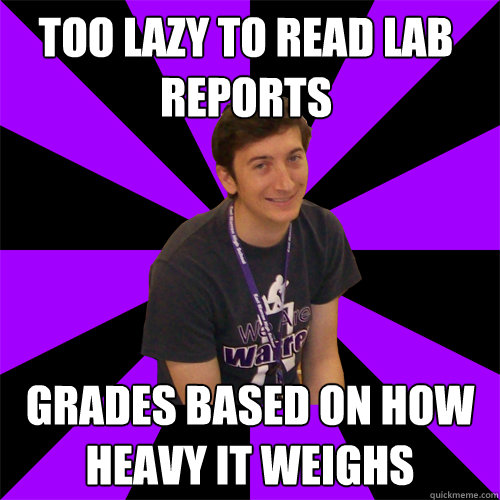 how to read lab reports