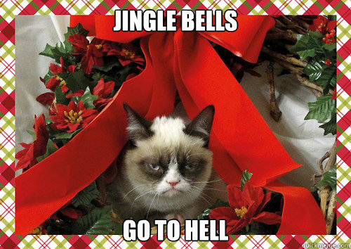 Jingle bells Go to Hell - Jingle bells Go to Hell  A Grumpy Cat Christmas