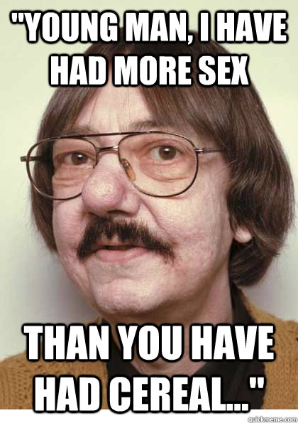 60 year old man having sex