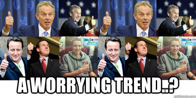 a worrying trend..? -  a worrying trend..?  Thumbs up