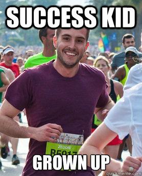 success kid grown up