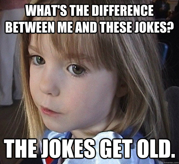 453e3848d32e763ee9097c2515df59b80687598940b5d5a5dd627da6eb0feb8c madeleine mccann on ageing memes quickmeme