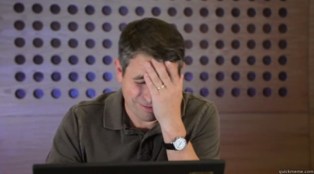 -      Facepalm Matt Cutts