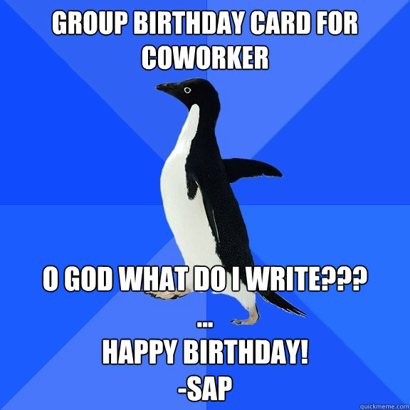 Funny Happy Birthday Meme For Coworker : Funny happy birthday colleague memes