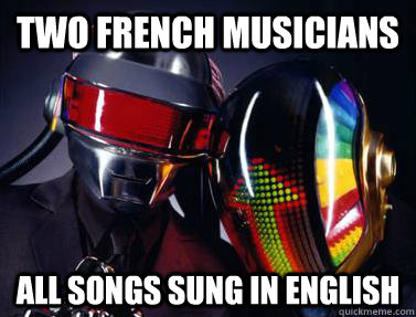 two french musicians all songs sung in english - two french musicians all songs sung in english  Misc