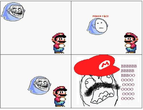 Mario ghost trolls. -   Misc