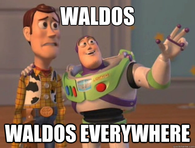 Waldos Waldos everywhere - Waldos Waldos everywhere  Buzz Lightyear
